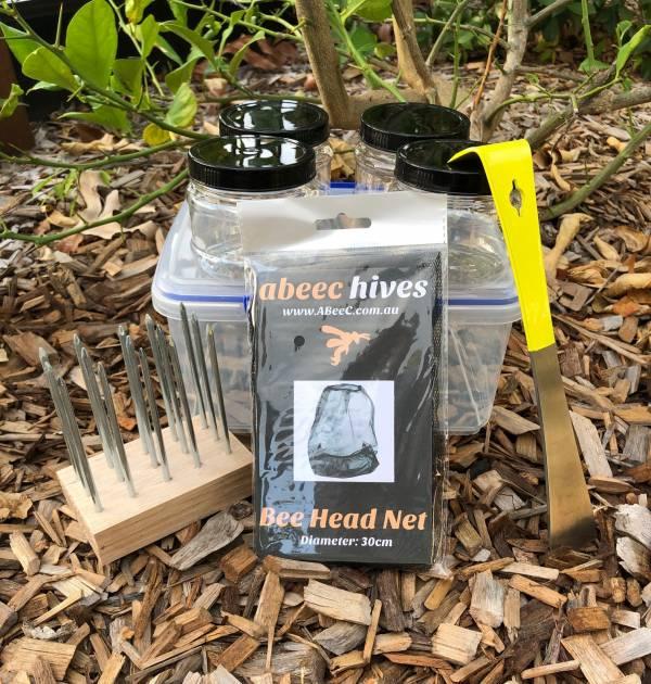 Native Bee Honey Extraction Kit