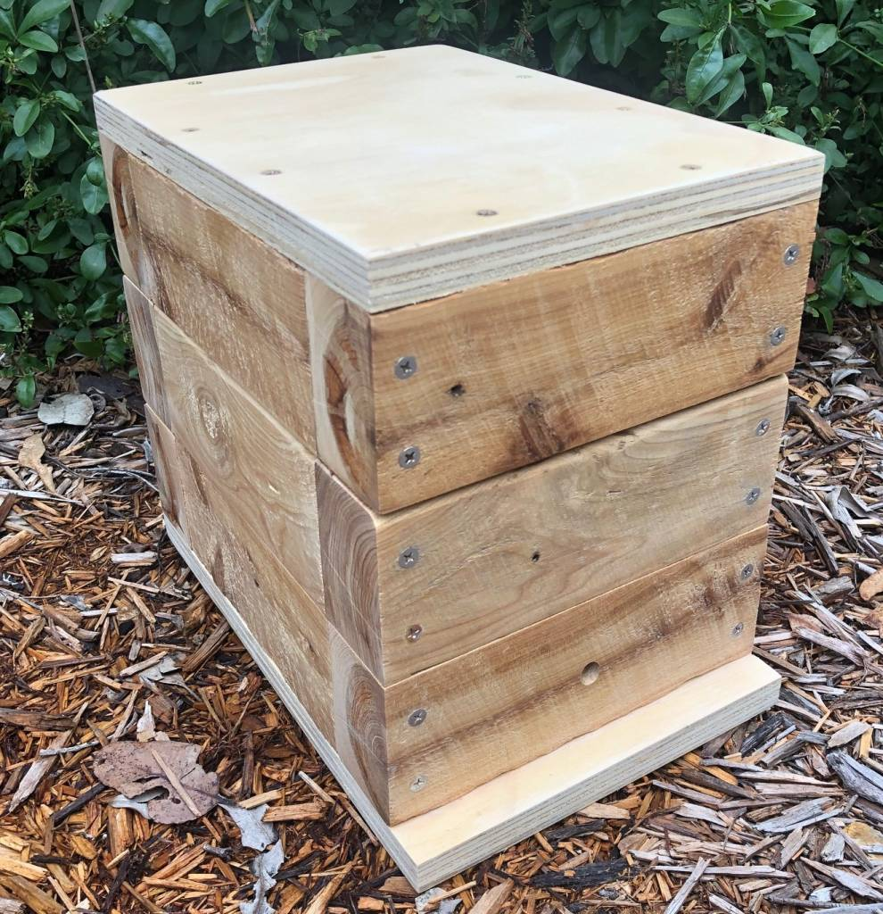 50mm Cypress OATH Australian Native Bee Hive